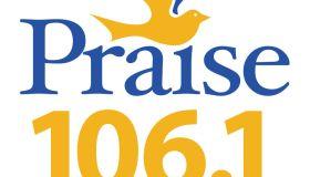 Praise 106.1 logos