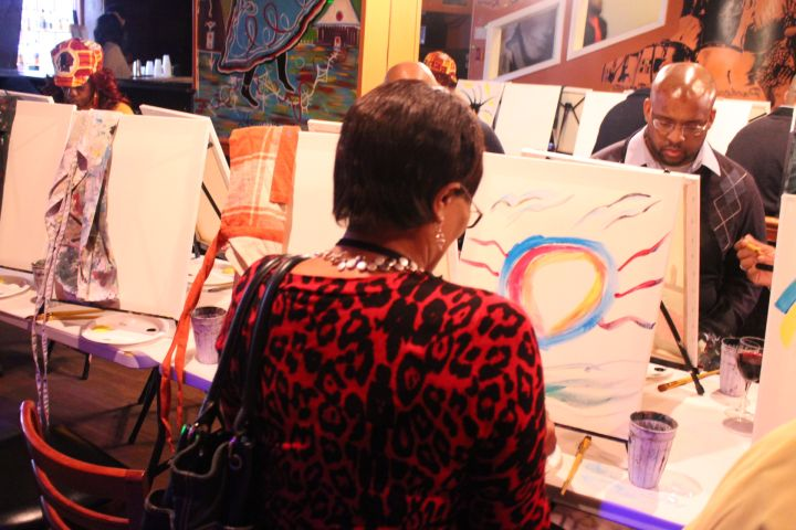 Sip N Paint with Deitrick Haddon