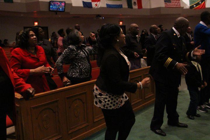 Baltimore's Final Prayer Vigil of 2015