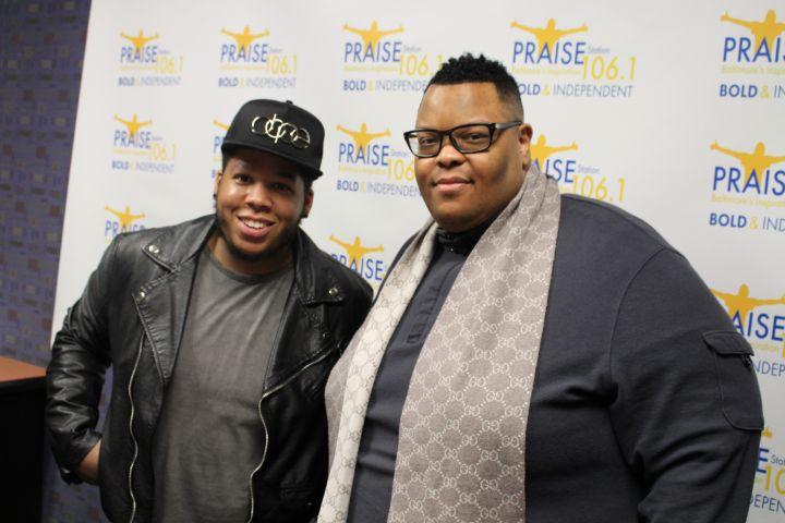 Charles Butler & Brandon Maclin Visit Praise Baltimore