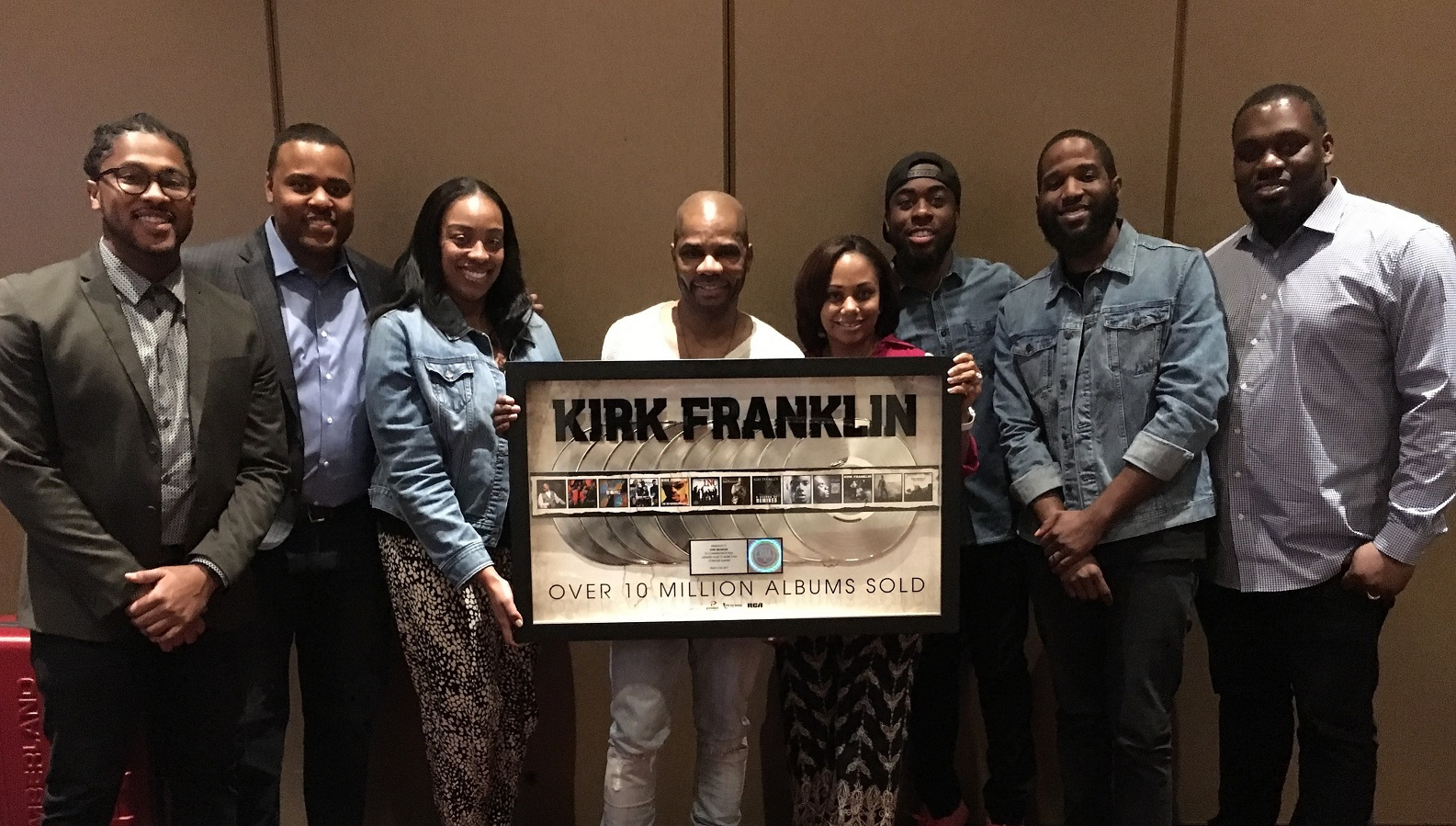 Kirk Franklin Honored by RCA Inspirational During 2017 Stellars Weekend