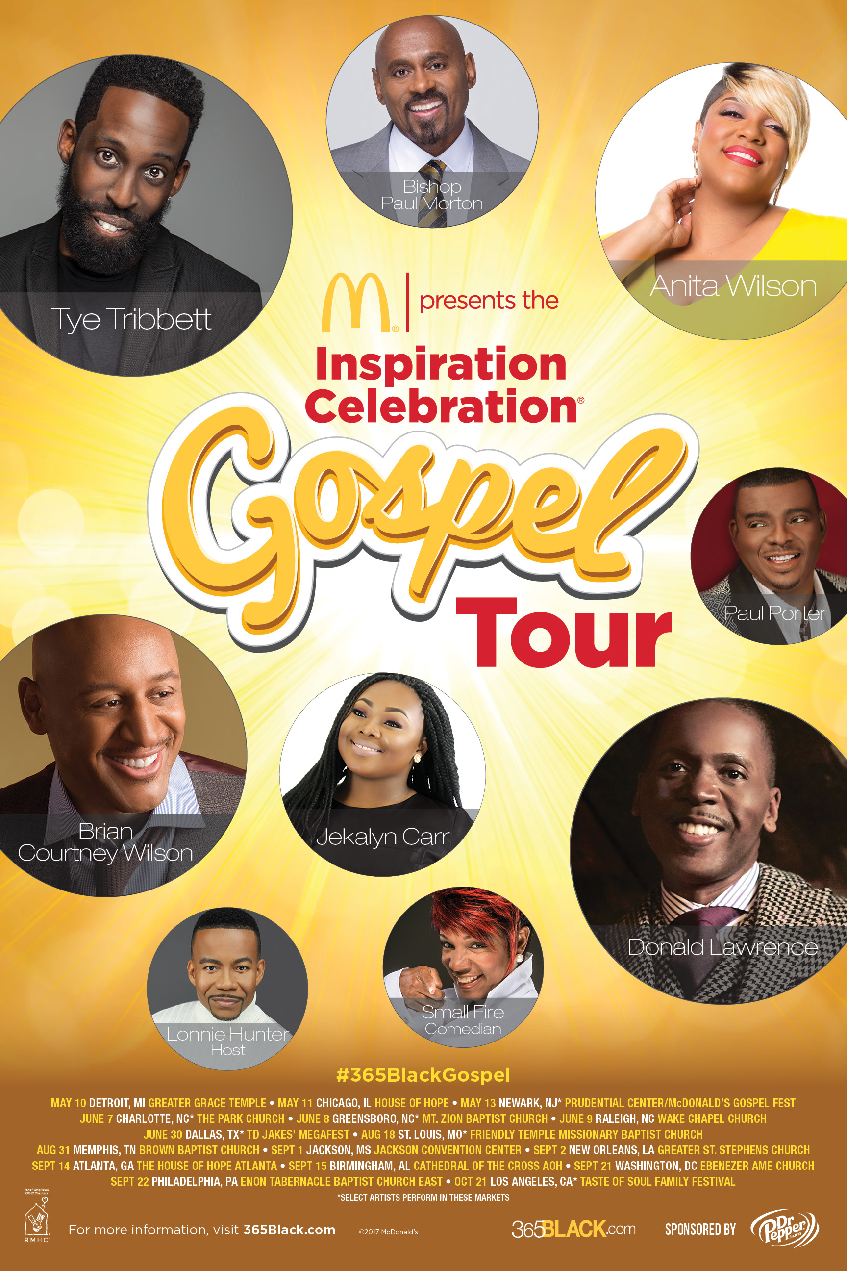 McDonald's Gospel Tour 2017