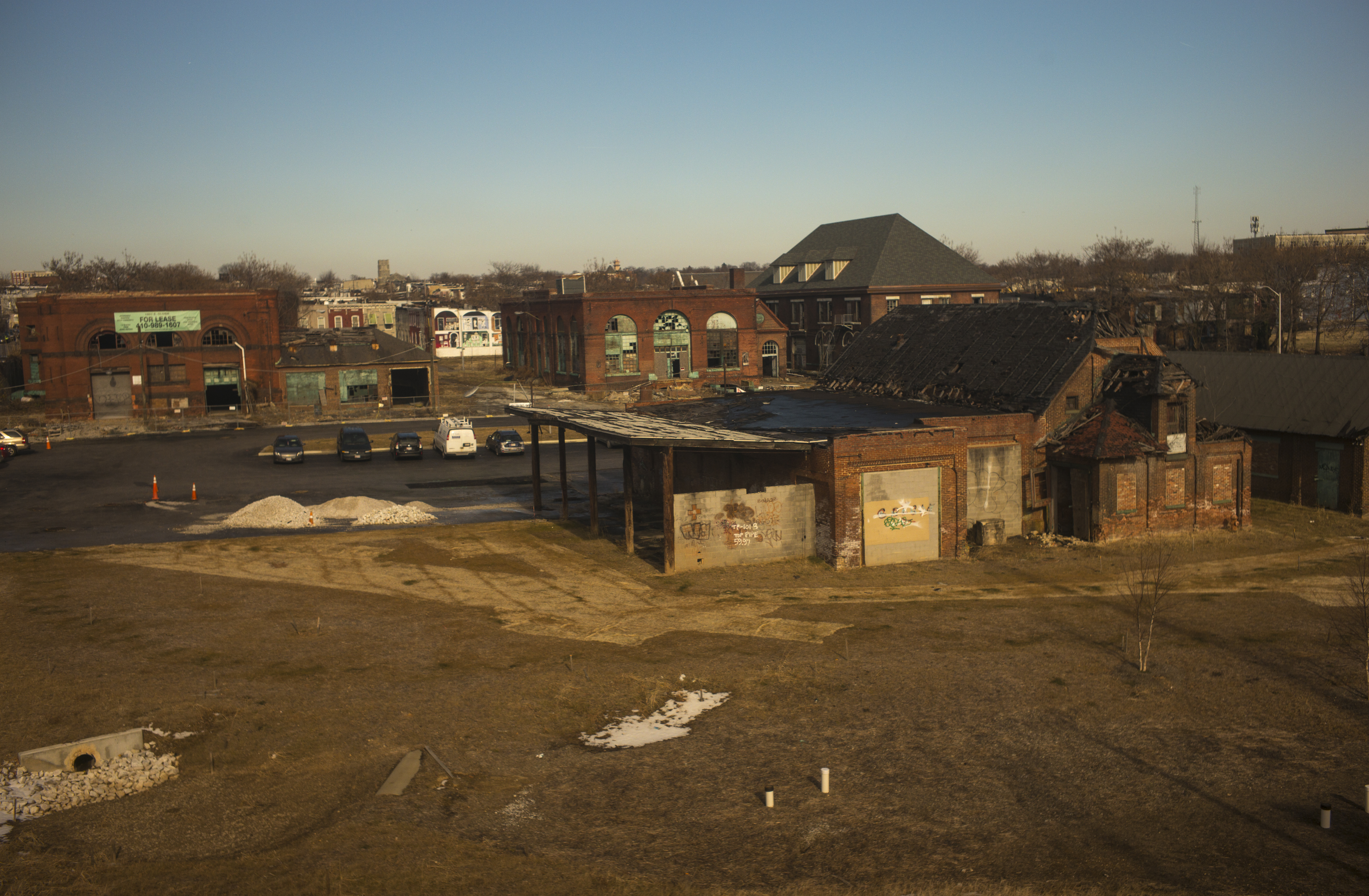 Decaying Infrastructure In Baltimore