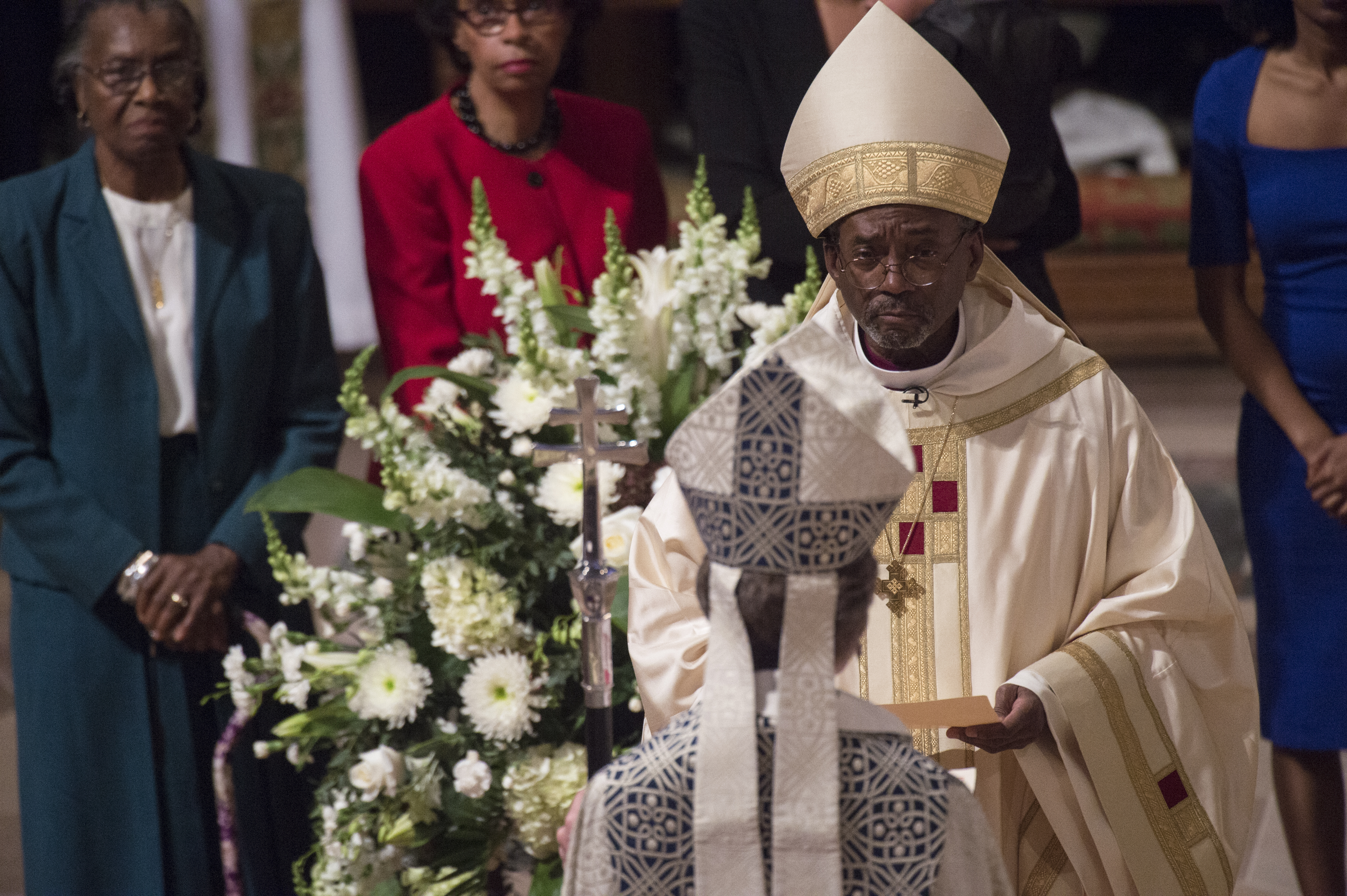 The Most Reverend Michael Bruce Curry, the 27th Presiding Bishop of the Episcopal Church and Primate