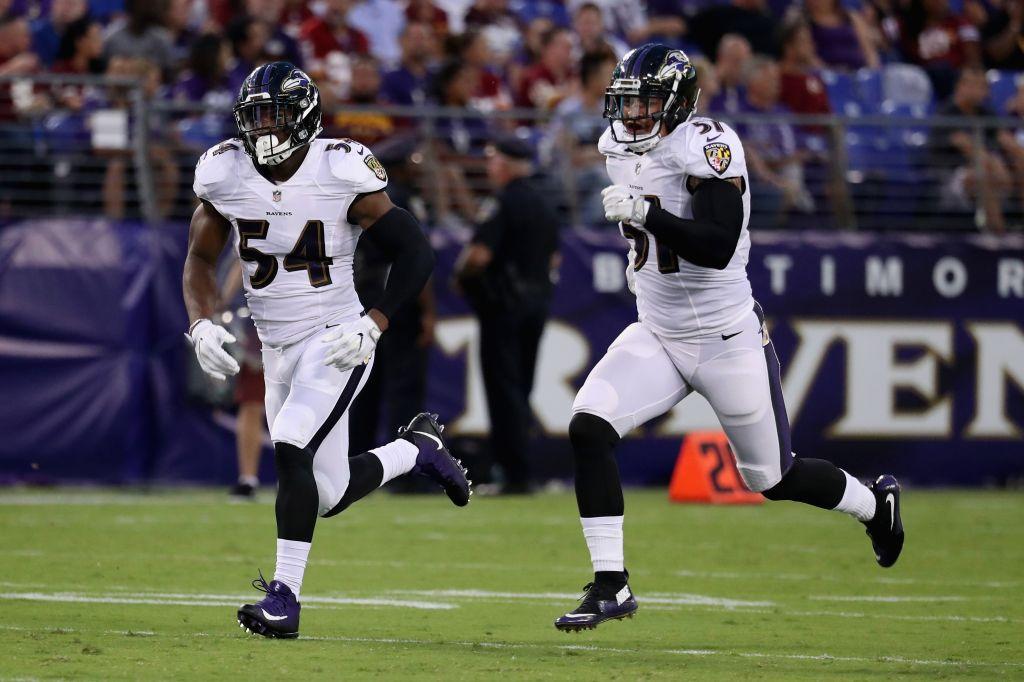 Washington Washington Football Team v Baltimore Ravens