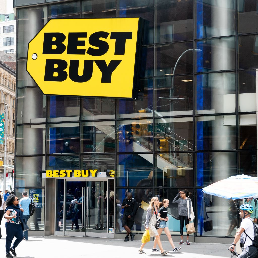 Best Buy store in Union Square in New York City...