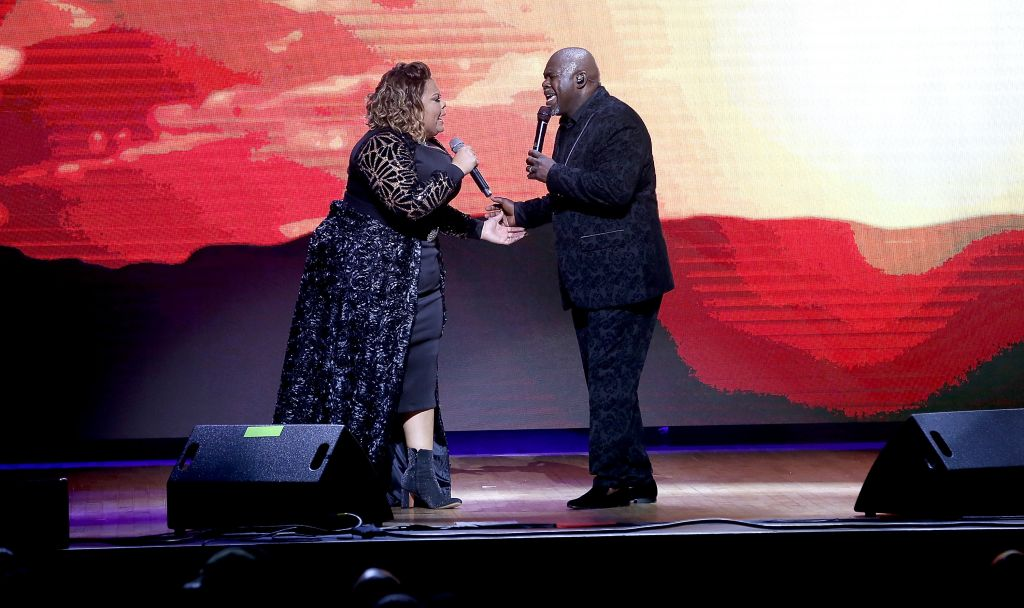 David And Tamela 'Against The World' Family Tour - Los Angeles, CA