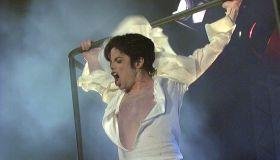 Jackson, Michael - Musiker, Saenger, Popmusik, USA - Auftritt in der TV-Show 'Wetten, dass..?'
