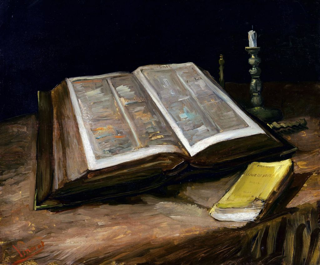 Still life with Bible.