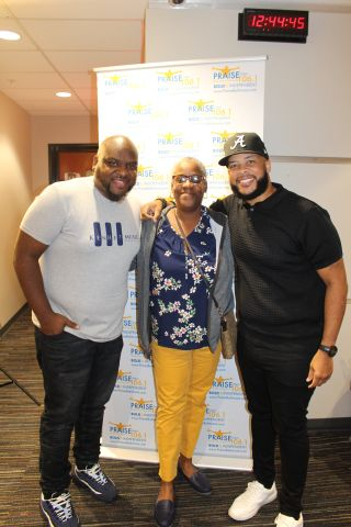 Praise 106.1's James Fortune Luncheon