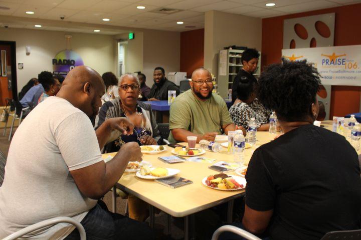 Praise 106.1's James Fortune Luncheon