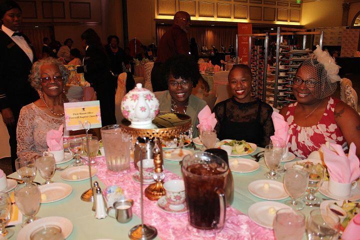 Praise 106.1's 3rd Annual First Ladies Tea