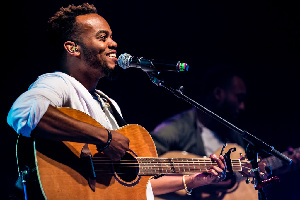 Gospel Artist Travis Greene Performs At The El Rey Theatre