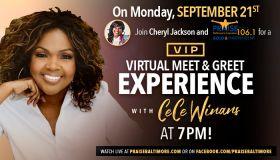 Praise Baltimore CeCe Winans VIP Experience