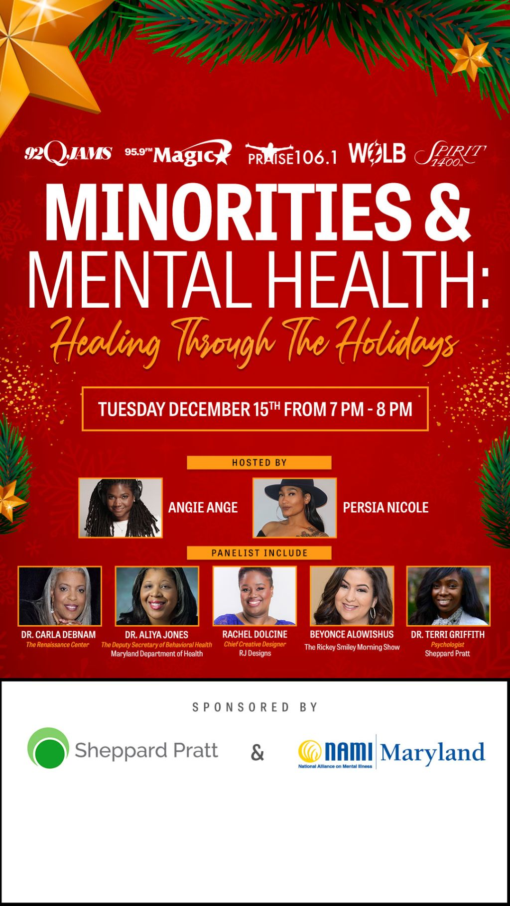 Minorities & Mental Health: Healing Through The Holidays