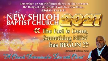 New Shiloh Baptist Church 2021